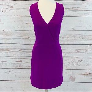 J. Crew fuchsia purple sheath dress